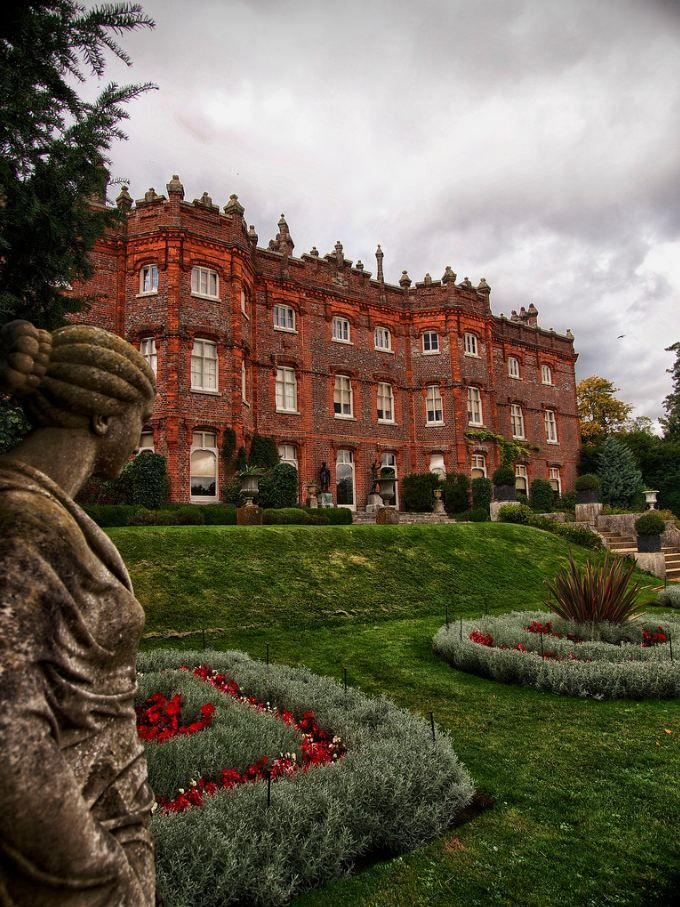 "visitheworld: ""  Hughenden Manor, Buckinghamshire / England (by PhilnCaz). """