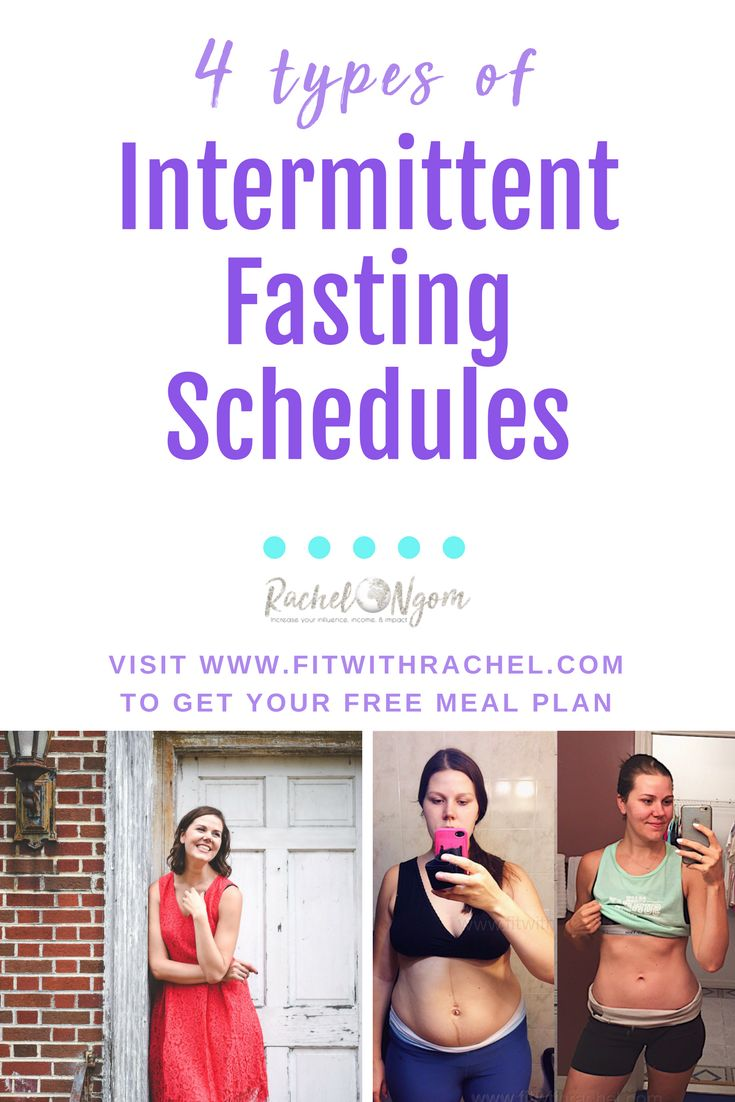 Intermittent Fasting Schedule For Women How To Do An