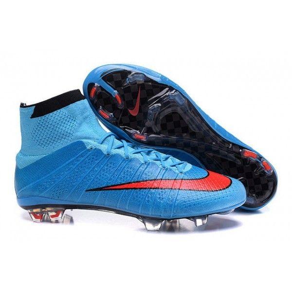 Comprenant un design radical qui utilise la technologie Flyknit, Nike révolutionne la vitesse avec cette chaussure de football Nike Mercurial Superfly. - 119.0000