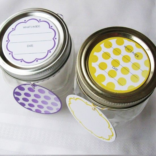 Canning Labels and stickers