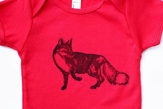 Hey, I found this really awesome Etsy listing at https://www.etsy.com/listing/261363116/fox-baby-t-shirt-6-12-m-american-apparel