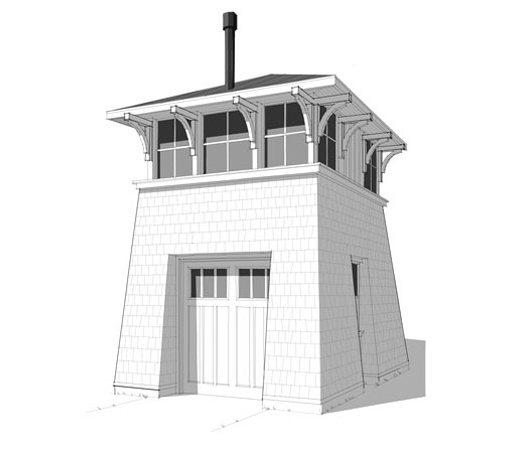 Tower garage my style pinterest for Lighthouse home floor plans