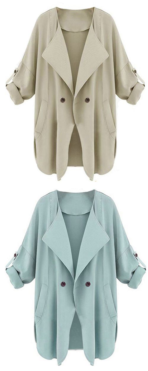 Show it off with $19.99&Free Shipping! This coat is detailed with big lapel, ornamental button&side pockets! Enjoy day-off with it Now! More surprise at Cupshe.com !