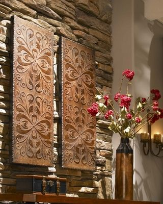 I could definitely make these with some wood icing. Toscana Wall Panels set of 2 $327.80