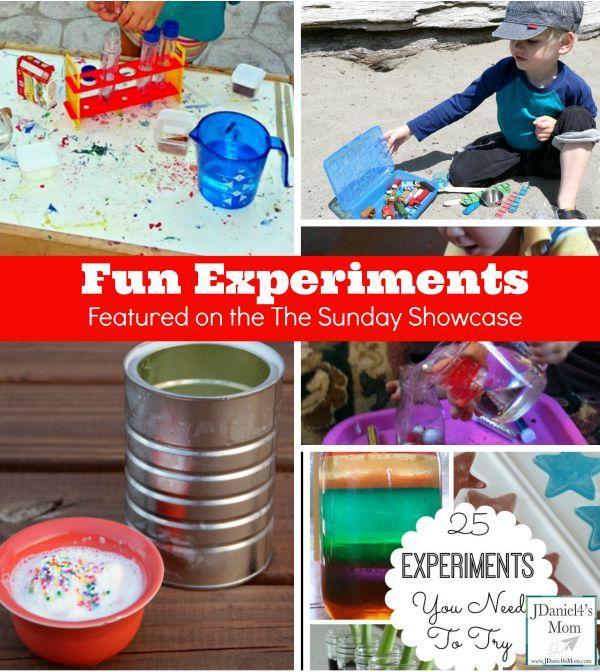 Cool Experiments for Kids via JDaniel4's Mom