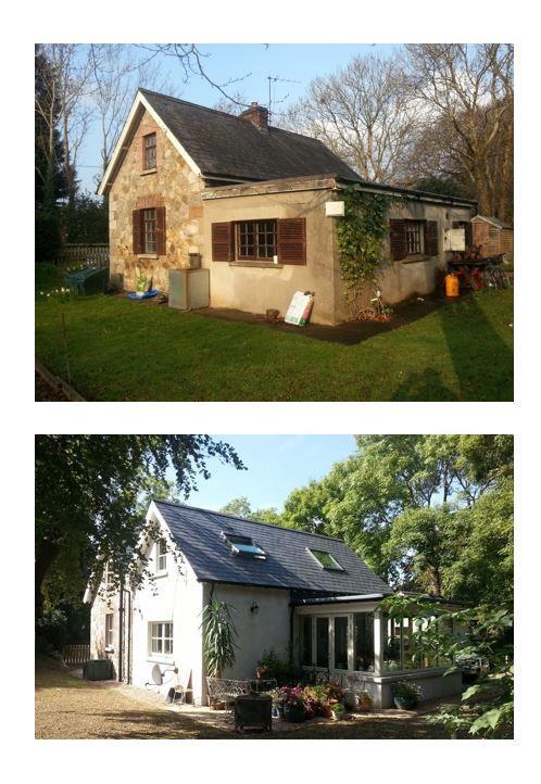 Before & After Images of Retrofit by RENOVA, Irish Retrofit & Renovation Company www.renova.ie