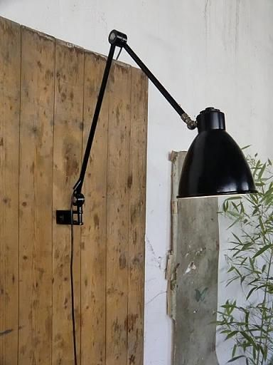 WO AND WÉ COLLECTION: Potence lampe murale articulée ajustable