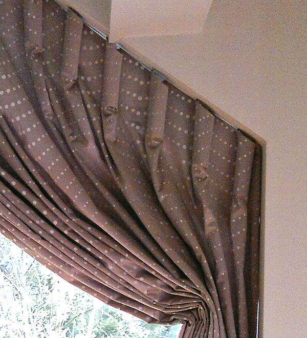 how to make curtains for a slanted window - Szukaj w Google