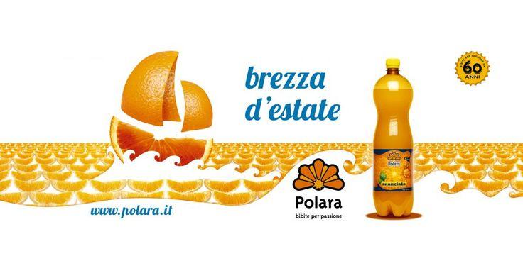 realizzazione campagna pubblicitaria Polara bibite settore GDO - in Sicilia