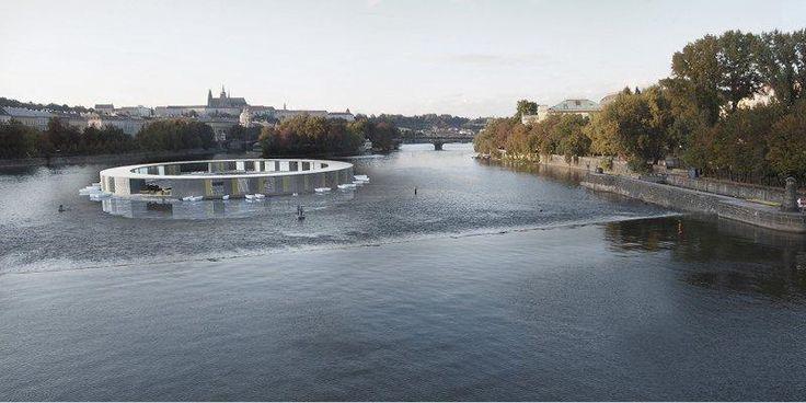 Plovárna na Vltavě