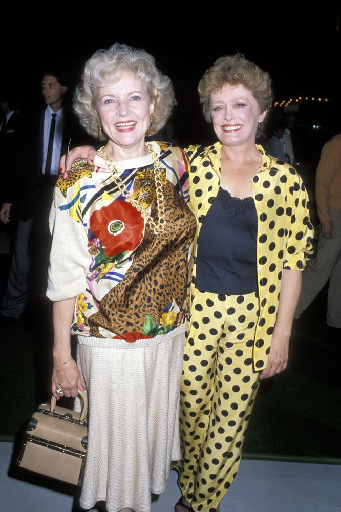 Betty White 39 S Bff Sure Had Style Golden Girls Girl
