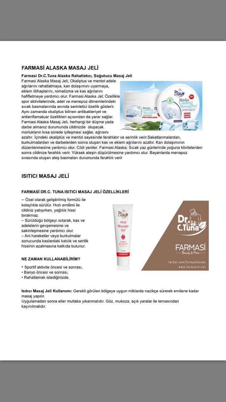 FARMASİ / DR CEVDET TUNA Sipariş ve üyelik için  ogec0212@gmail.com