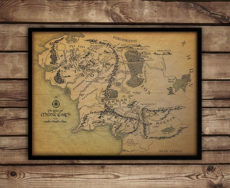 The 25 best Map of middle earth ideas on Pinterest Middle earth