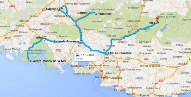 Viaggio con bambini in Provenza: itinerario di 1 settimana