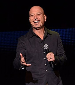 Howie Mandel (b.1955), Canadian comedian, actor, television host, and voice actor, has mysophobia (an irrational fear of germs) to the point that he does not shake hands with anyone unless he is wearing latex gloves.
