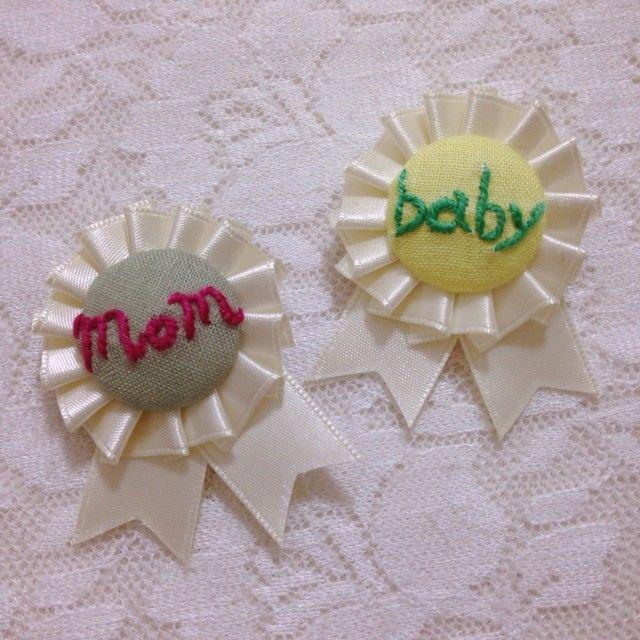 ロゼット mom & baby - 奈な色 deco