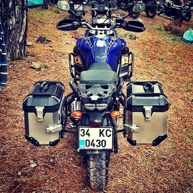 "@gunerguray's photo: ""#yamaha #supertenere #xt1200z #bursa #bursaenduro #swmotech #adventureriding"""