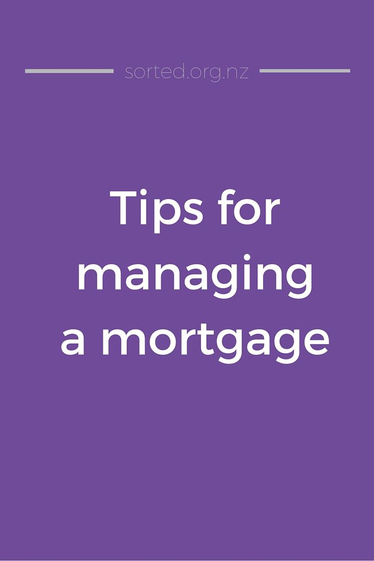 A few tips for managing your mortgage, from refinancing to insurance and financial hardship.