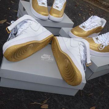 Shop Custom Nike Air Force 1 on Wanelo