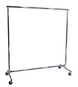Coat Racks. Coat Racks are 5' Wide and have wheels.  Hangers are also available.