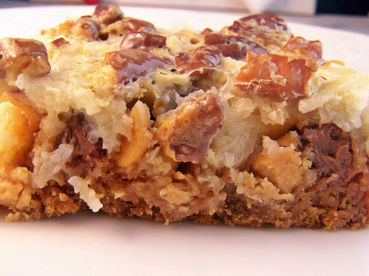 Low Calorie Hello Dolly Bars | Low Calorie Dishes | Pinterest