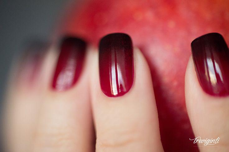 nail art halloween dégradé