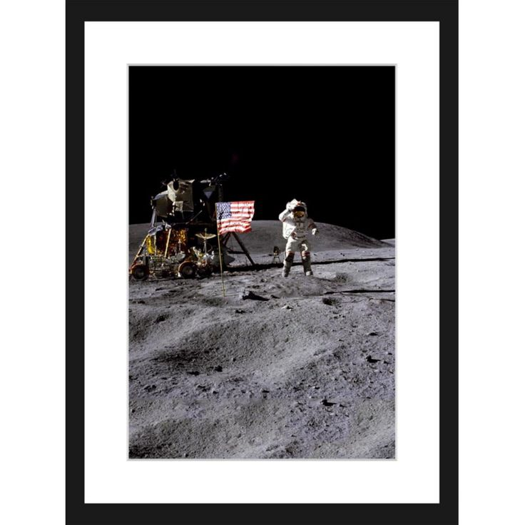 Marmont Hill Apollo 16 Framed Painting Print - MH-SMITH-33-BFP-18
