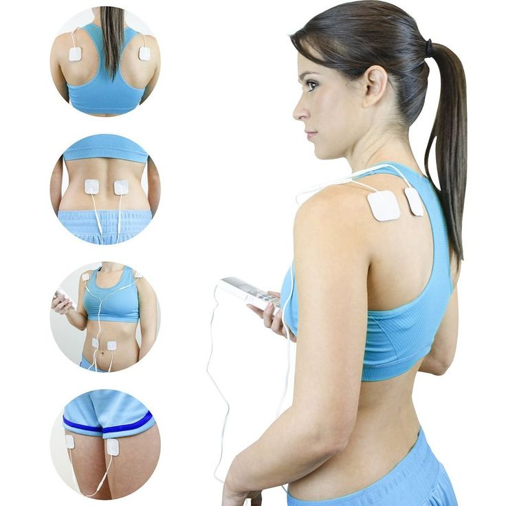Electronic Pulse Massager - Portable - Treats Tired and Sore Muscles LCD Display