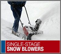 The best single stage snow blowers as rated by our snow blower expert Marissa. Also see the top customer rated and best selling models.