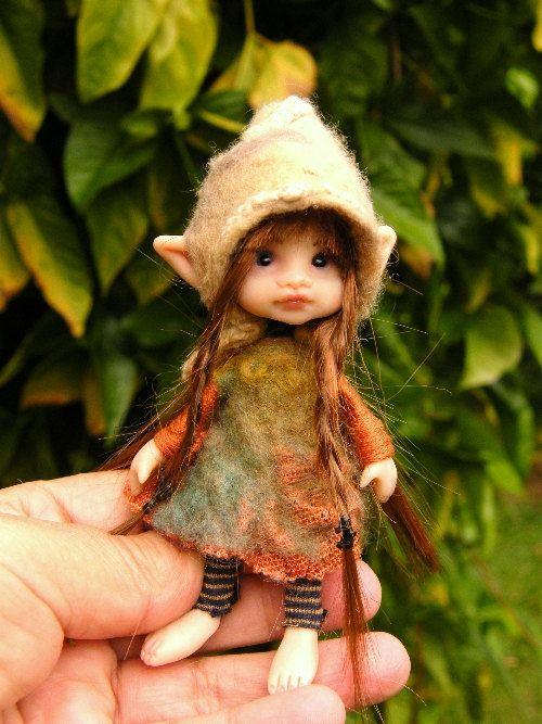 How cute is she! Garden fairy.
