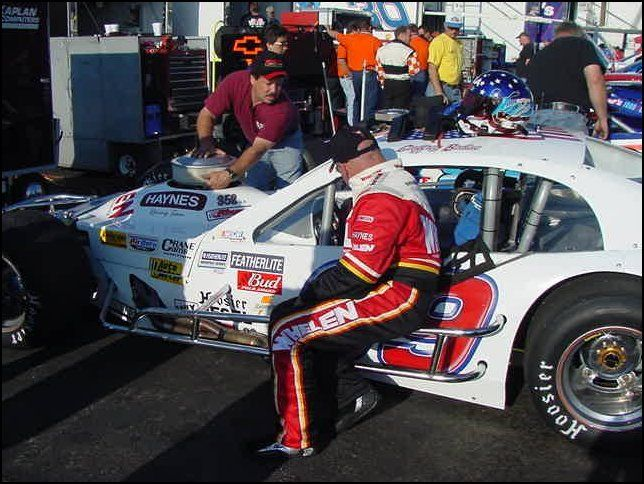 Geoff Bodine In Featherlite Modified Geoff Bodine