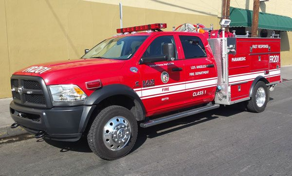 Lafd Begins Fast Response Vehicle Trial Program Fire Apparatus In 2020 Los Angeles Fire Department Fire Apparatus Vehicles