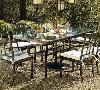 Riviera Rectangular Dining Table, 72 X 38 Gallery