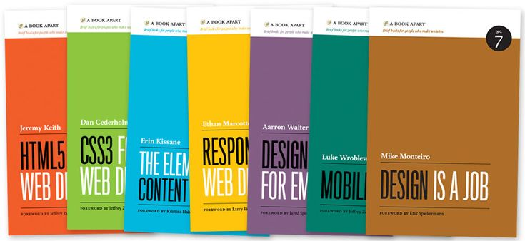 the complete A Book Apart library...these books look awesome and super informative