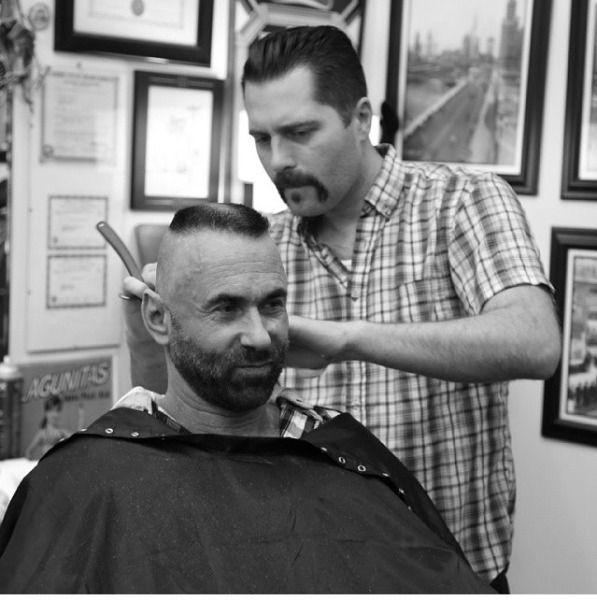 good barber barbershop essentials pinterest haircuts. Black Bedroom Furniture Sets. Home Design Ideas