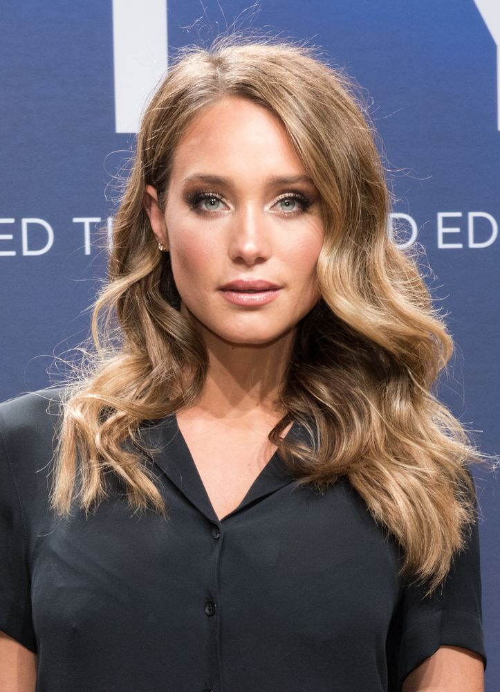 Major hair envy over Hannah Davis' sexy waves