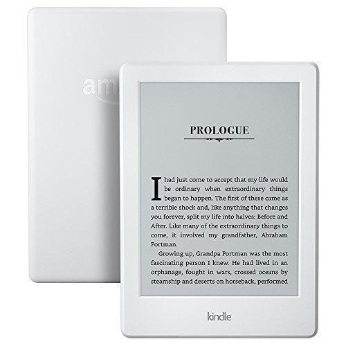 """Kindle E-reader - White 6"""" Glare-Free Touchscreen Display Wi-Fi"""