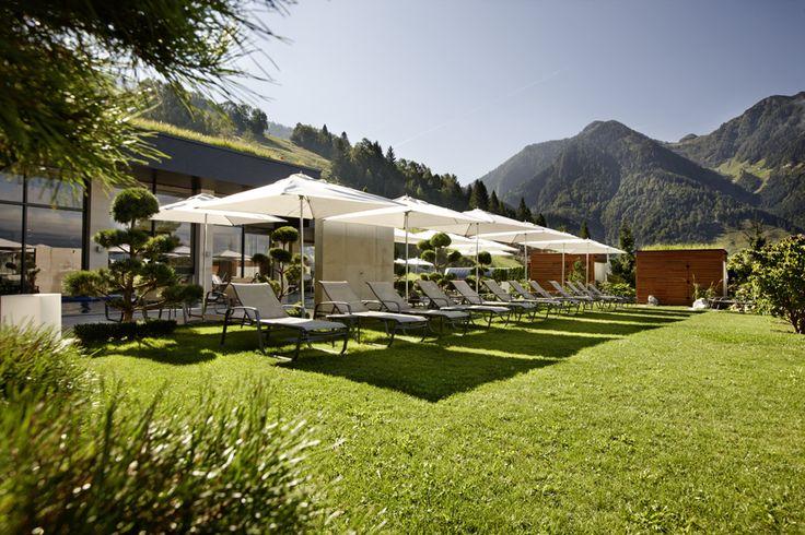 Wellness und Garten im Hotel Sonnhof | Summertime | Summerholiday | in Austria | Salzburger Land