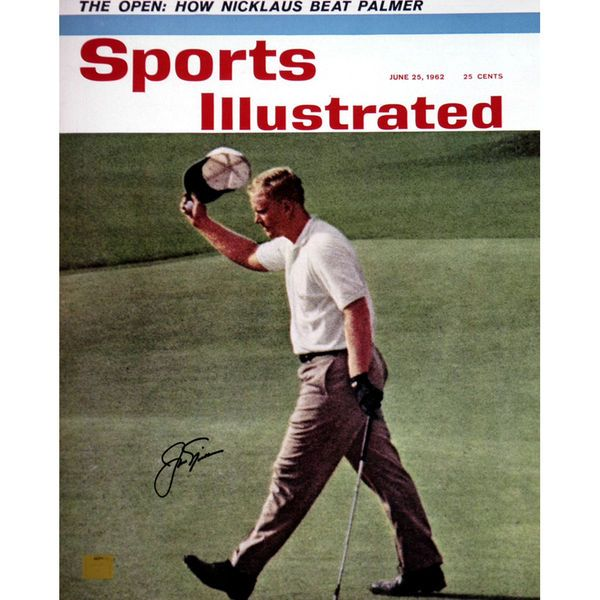 "Jack Nicklaus Fanatics Authentic Autographed 16"" x 20"" June 1962 Sports Illustrated Cover Photograph - $369.99"