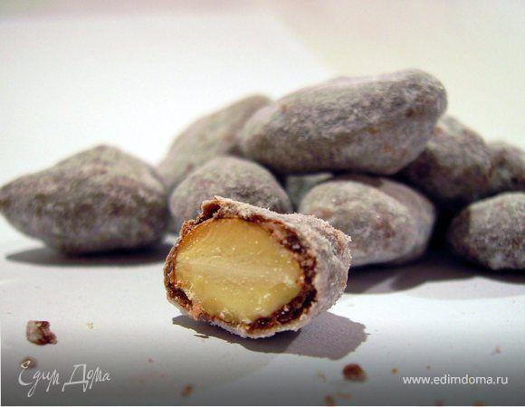Коричный миндаль в шоколаде