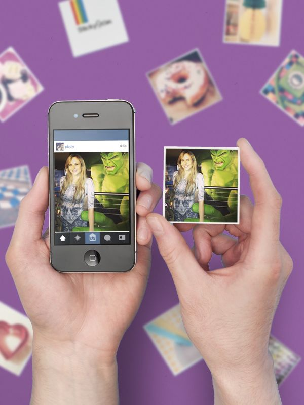 This website turns your Instagrams into cute little magnets!