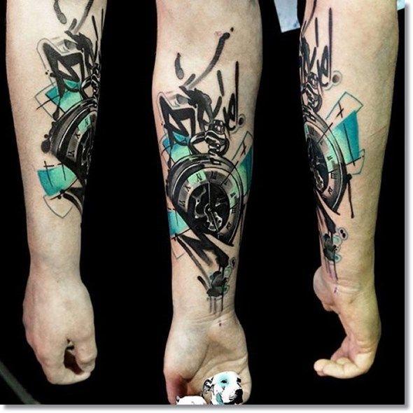 75 Brilliant Pocket Watch Tattoo Designs Ever Made Tattoos