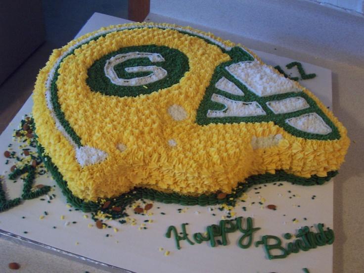 Greenbay Packers Cake Pan