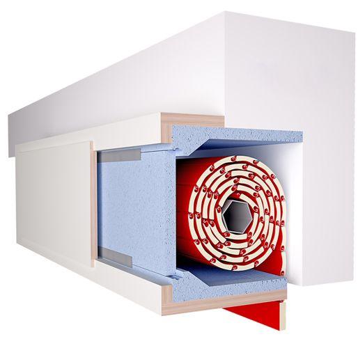 Isolatutto De Faveri, l'isolante per la coibentazione di cassonetti esistenti. Montaggio facile e veloce. L'Isolamento termo-acustico per i cassonetti.