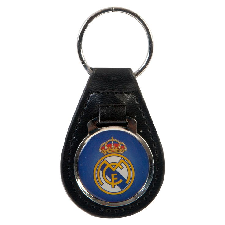 Real Madrid C.F. Leather Keychain - Rs. 399 Official#Football #Merchandisefrom#LaLiga