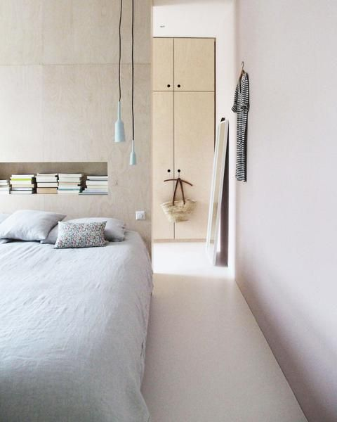 plywood bedroom  ~ Great pin! For Oahu architectural design visit http://ownerbuiltdesign.com