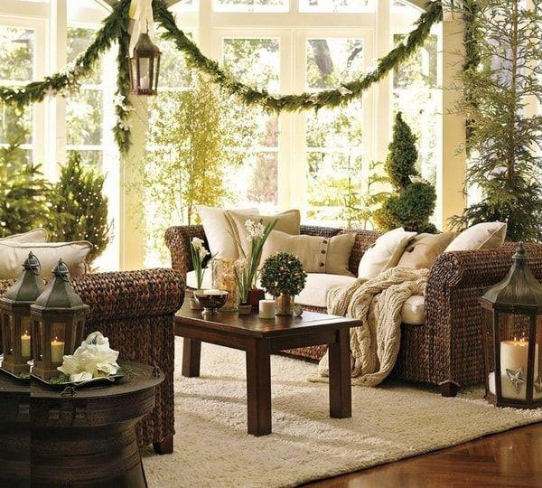 Ideas Para Decorar La Sala En Navidad Decoracion Navidena Decoracion De Salas Como Decorar La Sala Sala De Navidad
