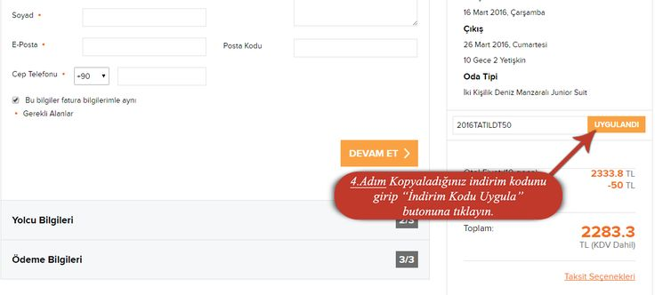 tatil.com indirim kuponu kodu