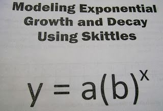 Modeling Exponential Growth and Decay with Skittles