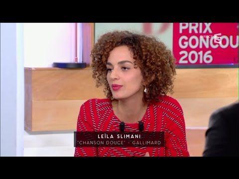Leila Slimani, le Goncourt ! - C à vous - 03/11/2016 - YouTube